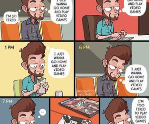 comic, draw, and funny image
