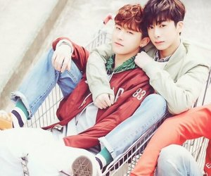 i.m, changwon, and hyungwon image