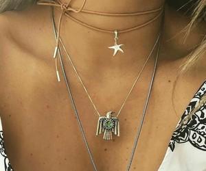aguia, colar, and fashion image
