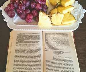 book, evening, and FRUiTS image