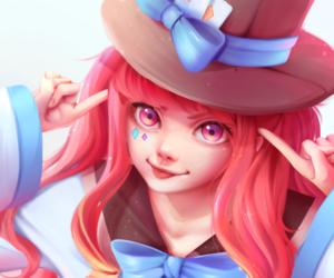 anime girl, fantasy, and art image