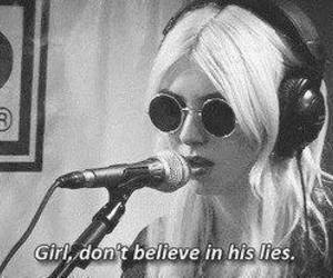 lies, Taylor Momsen, and the pretty reckless image