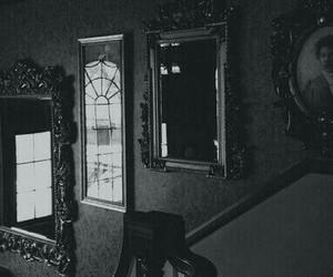 mirror, dark, and black image