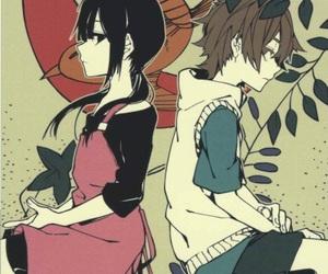 anime, fanart, and hibiya amamiya image