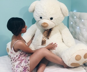perfect room, room, and teddy image