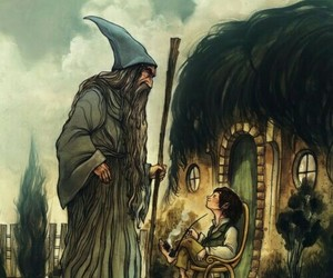 gandalf, the hobbit, and hobbit image