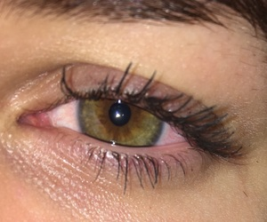 eyes, green, and redeyes image