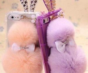 bunny, diamond, and fur image