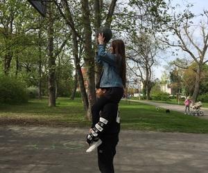 Basketball, best friends, and boyfriend image