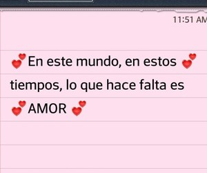 amor, frases, and idea image