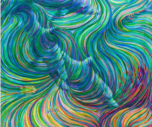 art, swirl, and colors image