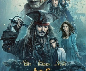 captain jack sparrow, johnny depp, and dead men tell no tales image