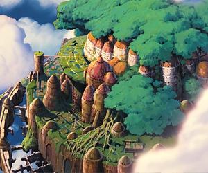anime, studio ghibli, and wallpaper image