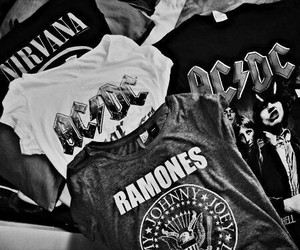 nirvana, ramones, and ac dc image