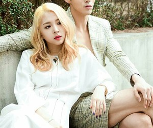 kard, jiwoo, and bm image