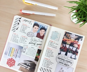 art, journal, and bullet journal image