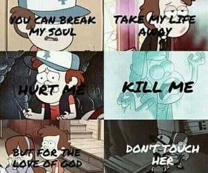 gravity falls, brothers, and love image