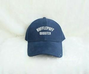cap and hufflepuff image