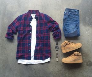 fashion, wear, and men fashion image