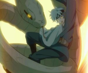 naruto, anime boy, and mitsuki image