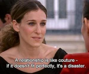 sex and the city, quote, and Relationship image