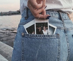 lake, polaroid, and that ass image
