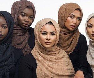 hijab, beauty, and muslim image