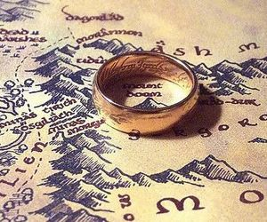 ring, lord of the rings, and LOTR image