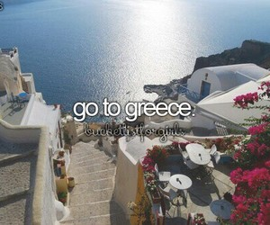 Greece, travel, and summer image