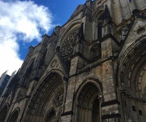 church, newyork, and photography image