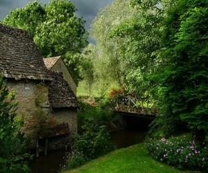 garden, england, and landscape image