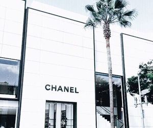 chanel, white, and blue image