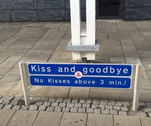 kiss, alternative, and goodbye image