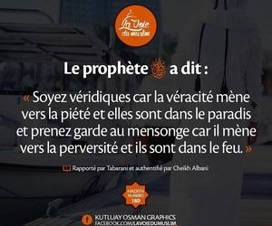 paradis, prophète, and vérité image