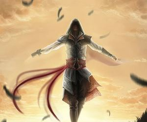 assassin's creed, ezio, and art image