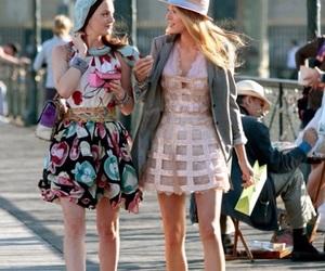 gossip girl, blair waldorf, and Serena Van Der Woodsen image