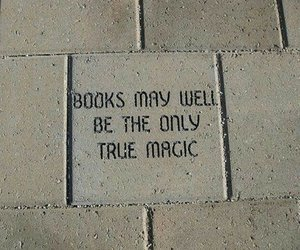 book, magic, and quotes image