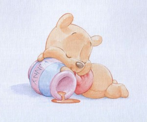 drawing, winnie the pooh, and cute image