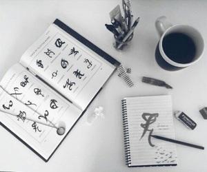 shadowhunters, book, and runes image