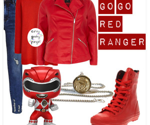 geek chic, power rangers, and plus size image