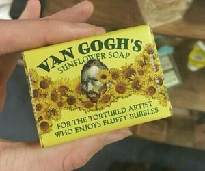 yellow, van gogh, and soap image