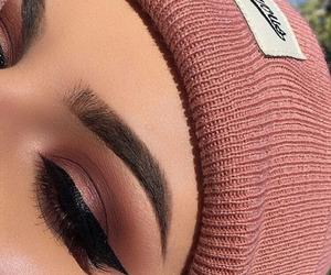 eyebrows, eyelashes, and fashion image