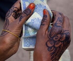 money, somalia, and henna image