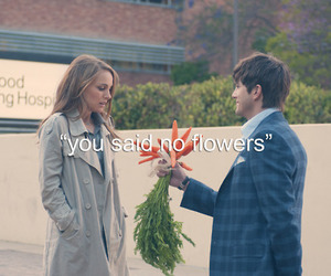 love, flowers, and carrot image