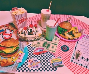 food, retro, and vintage image