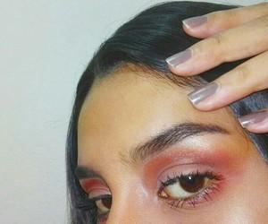 blend, nails, and eyeshadows image