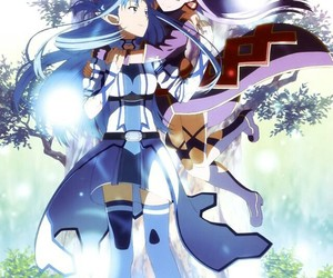 sword art online, anime, and yuuki image