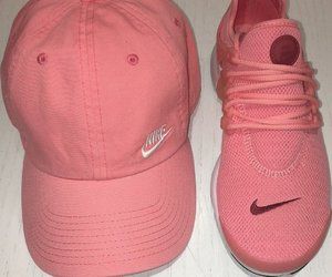 nike, sneakers, and hat image