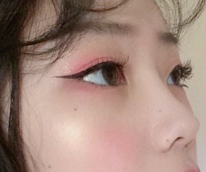 asian, pink, and makeup image
