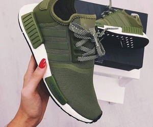 adidas, shoes, and green image